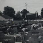 Building the current sanctuary in 1965